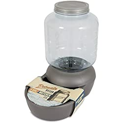 Petmate Mason Replendish Waterer, 4 gallon, Mason Silver