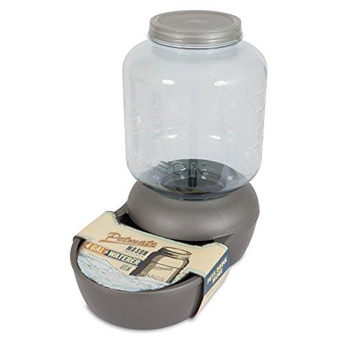Petmate Replendish Waterer gallon Silver