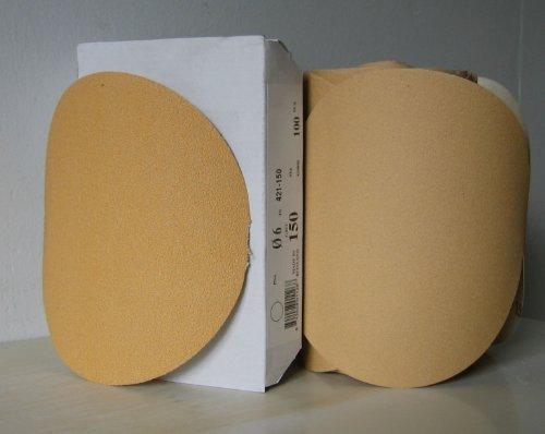 Premium Gold 5 PSA Sticky Back Self Adhesive Sanding Discs Roll 100 Grit