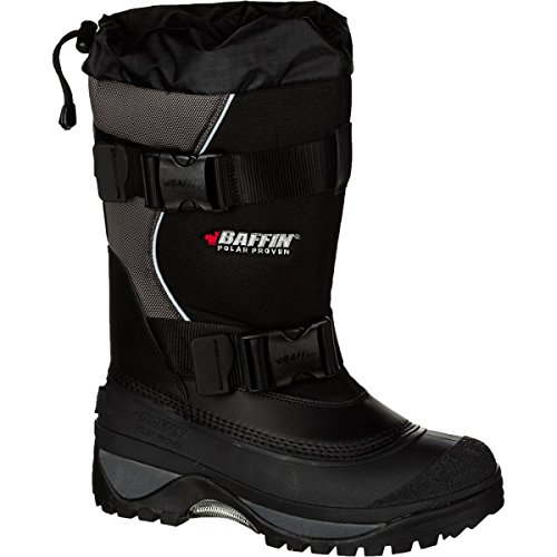 Baffin Men's Wolf Snow Boot,Black/Pewter,8 M US