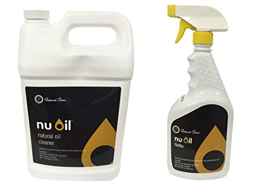 NuOil Gallon and Renu Spray Bottle Bundle