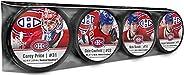 Inglasco Carey Price, Cole Caufield, Nick Suzuki & Jesperi Kotkaniemi (Montreal Canadiens) Photo Hockey Pu