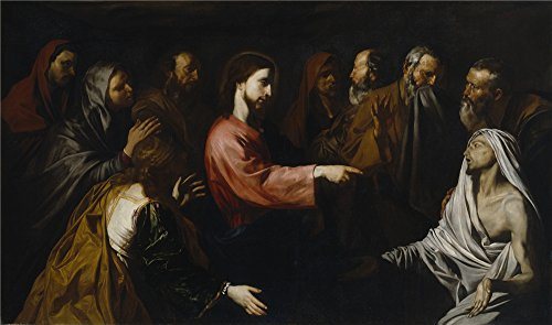 [Oil Painting 'Ribera Jose De La Resurreccion De Lazaro Ca. 1616 ' Printing On Polyster Canvas , 10 X 17 Inch / 25 X 43 Cm ,the Best Home Office Gallery Art And Home Gallery Art And Gifts Is This Best Price Art Decorative Canvas] (Best Friend Halloween Costumes Yahoo)