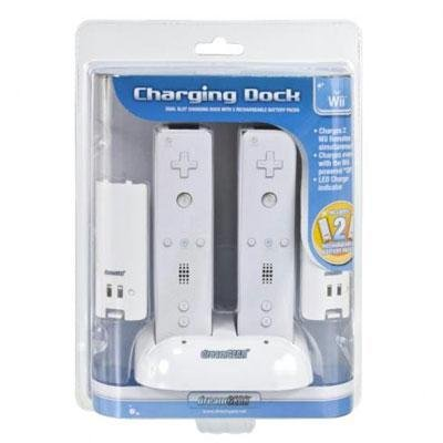 Dreamgear Pack - dreamGEAR - Wii Dual Charging Dock & Rechargeable Battery Packs (Wii)