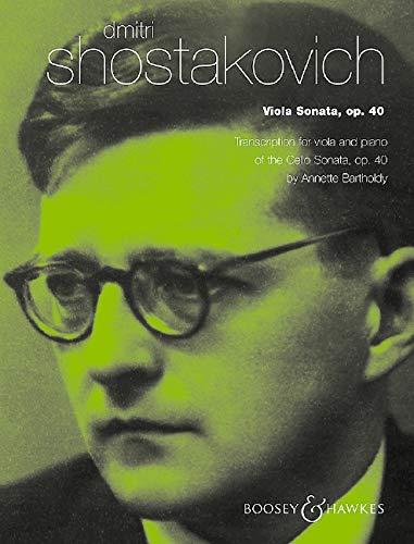Dmitri Shostakovich Viola - Viola Sonata, op 40