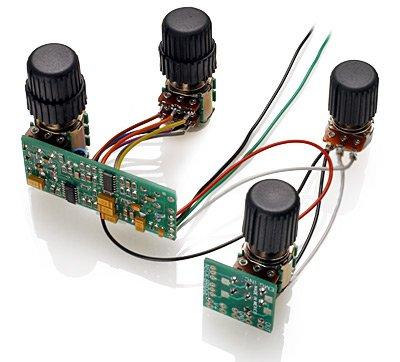 Preamp Knob (EMG BQC System 4-knob Active Bass Preamp System)