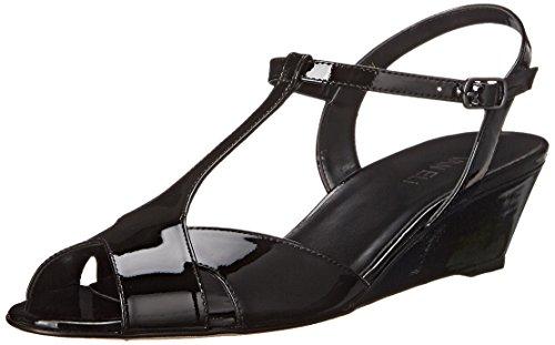 Vaneli Women's Borea Wedge Sandal,Black Smack  Patent,6.5...