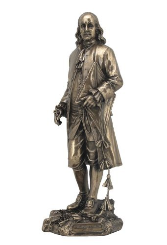 Sale – Benjamin Franklin Statue Sculpture – Ships Immeditly