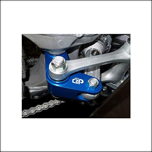 T6 Billet BlackPath Blue YZ250 WR250F Yamaha Rear 1.5 Lowering Link YZ125 WR450F 21mm Bearings Motorcycle Slam Drop Link Kit YZ450F