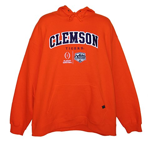 Clemson Tigers Adult Size 2X-Large College Football Playoffs Hooded Sweatshirt - Orange by OuterStuff
