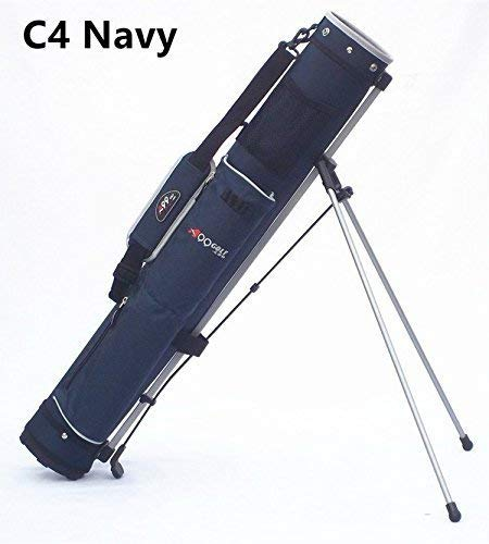 C4 Range Sunday Pencil Carry Bag Removable Top Cover w. stand Navy/Grey