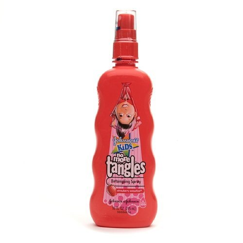 Johnson's Kids No More Tangles Detangling Spray, Strawberry 10 fl oz (295 ml)(PACK OF 2)