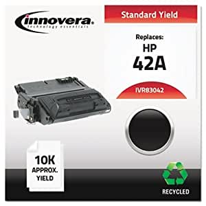 83042 Compatible, Remanufactured, Q5942A (42A) Laser Toner, 10000 Yield, Black by INNOVERA (Catalog Category: Computer/Supplies & Data Storage / Printer Supplies/Accessories)