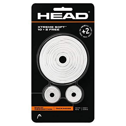Head XTreme Soft (10+2) Overgrip (White)