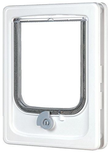 Zolux – Cat Flap – 4 Positions – White