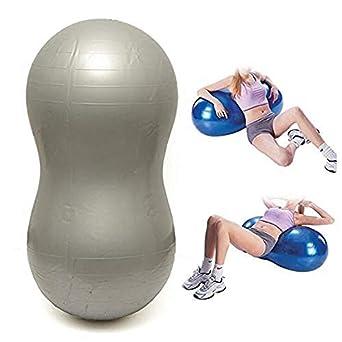 Amazon.com: LetsYoga - Pelota de yoga con forma de cacahuete ...