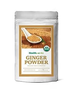 Healthworks Ginger Root Powder Organic Ground (1 Pound)