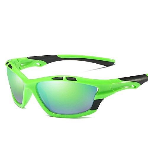 Con Azul Sol Polarizadas Uv400 Gafas El De Para Blanco Green Hombres Rojo De Espejo De Negro TIANLIANG04 Polarizadas Gafas Cuadro Hombres Sol Negro Conducción Con gHYxWqf