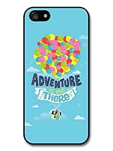 AMAF ? Accessories Adventure Up Disney Pixar Animation Movie Quote Balloons Fly case for iPhone 5 5S