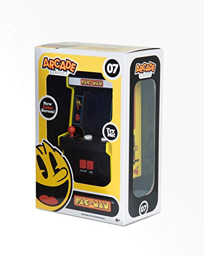 Pac-Man Pacman Arcade Classics Mini Arcade Game with Color - Electronic Man Pac