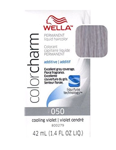 Wella Color Charm Liquid Hair Color #050 Cooling Violet - Pack of 36 by Wella