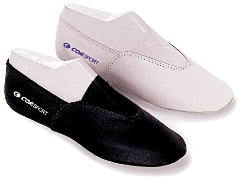 RHYTHMIC GYMNASTICS SHOES BUFFALO/RUBBER WHITE SIZE 30
