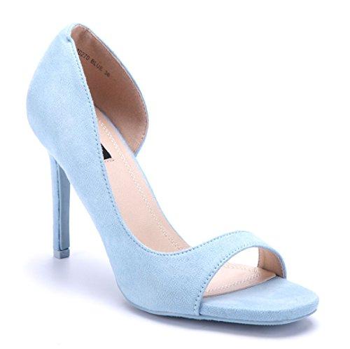 8b128ded21d4d2 Schuhtempel24 Damen Schuhe Peeptoes Pumps Stiletto 11 cm High Heels -  pemicon.de