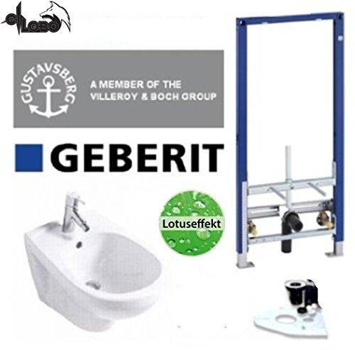 Gustavsberg Design Bidet Geberit Vorwandelement Bidet Set Lotusclean Beschichtung