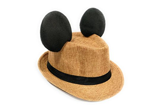 Disney Inspired Dapper Hat for Men Tan]()