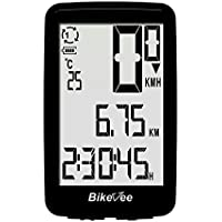 BIKEVEE Wired Bicycle Computer USB Rechargeable Bicycle Speedometer Odometer BKV-01