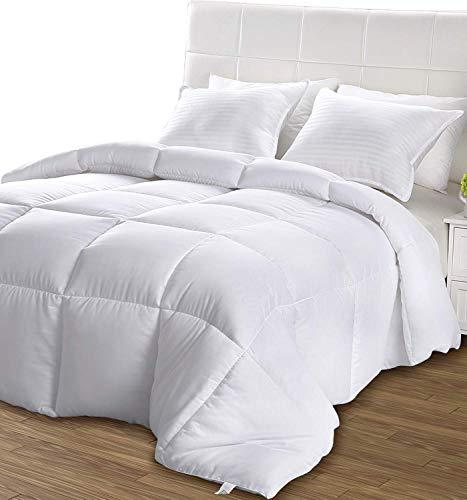 Utopia Bedding - Primavera-Verano Edredon de Fibra - Fibra Hueca Siliconada, 680 gramo (Primavera-Verano, Cama 80/90)