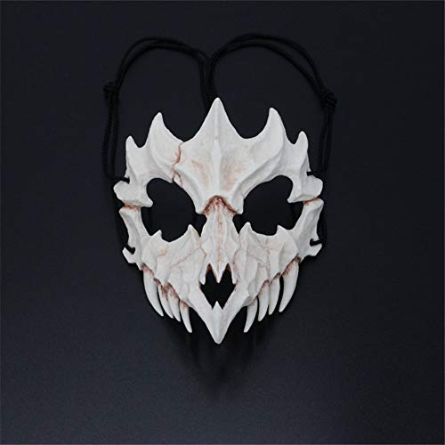 Halloween Mask Resin Mask Japanese Writer's Second Element