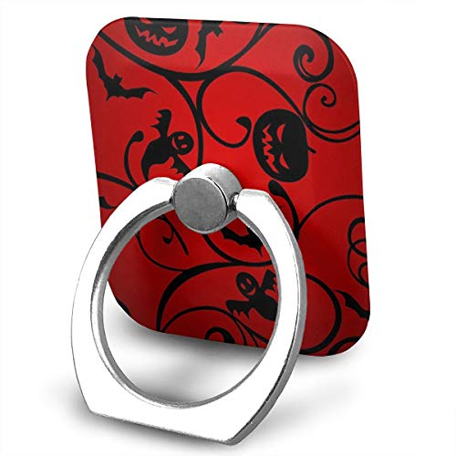 BLDBZQ Cell Phone Ring Holder Halloween Pattern Wallpaper Background Finger Grip Stand Holder 360 Degrees Rotation Compatible with iPhone Samsung Phone Case -