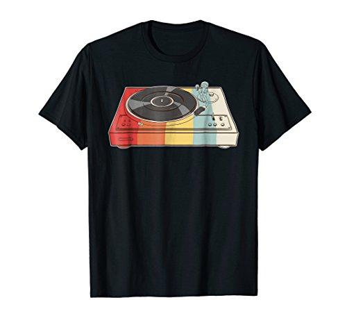 Retro Vinyl Record Shirt - Turntable DJ