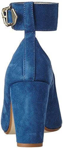 Copenaghen Scamosciata Cuneo Donne Gardenia Sandali Pelle Talloni Delle Blu jeans Di SUvOvfncEW