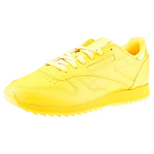 Gold Shoes Ripple Women's Cl Reebok Lthr 0 Yellow Fierce Running gTRUTqw
