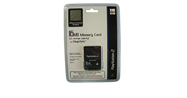 Amazon.com: Playstation 2 Memory Card 16MB: Video Games