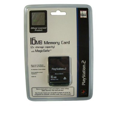 Playstation 2 Memory Card 16MB by Katana: Amazon.es: Videojuegos