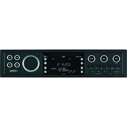 Jensen JWM90A Theater-Style Bluetooth Wallmount Stereo with