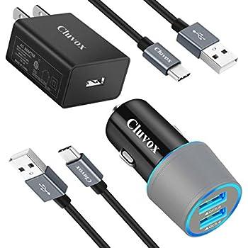 Amazon.com: meagoes rápido adaptador USB tipo C cargador de ...