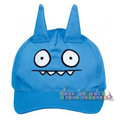 Cuddly Ugly Doll Party Ice Bat Deluxe Baseball Cap Accessory  Fabric  6  X 7