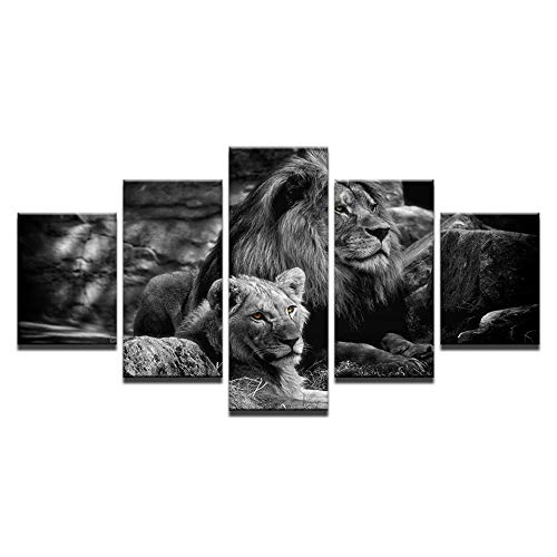 PQNM Lienzo Modular Wall Art Impreso Cartel Decoración del ...