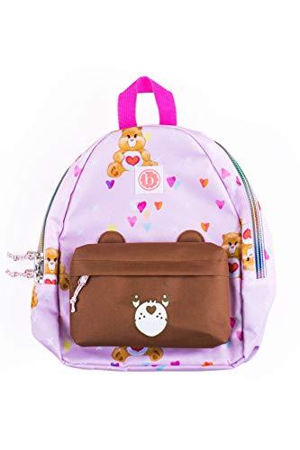 Baby Bling Care Bears Girls Backpack - Pink Bear