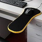 BST Wedding Favors Mouse Pad Desk Chair Computer Armrest Wrist Rest Healthy Mouse Pallets (Random Color)