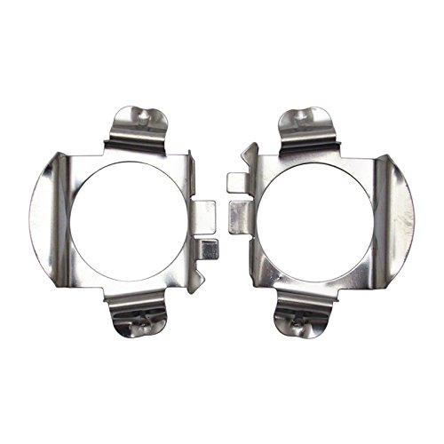 feeldo 2x Auto LED Scheinwerfer H7 Sockel Adapter Halter Lampensockel