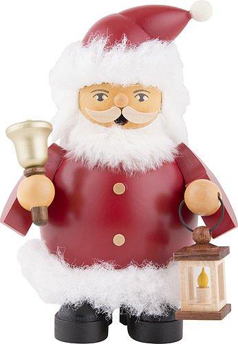 Müller German incense smoker Santa Claus, height 14 cm / 6 inch, original Erzgebirge by Mueller Seiffen by Müller (Image #1)