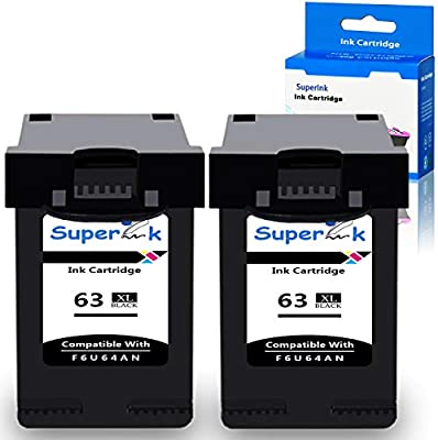 superInk 2pk remanufatured f6u64 a de tinta de alta capacidad ...