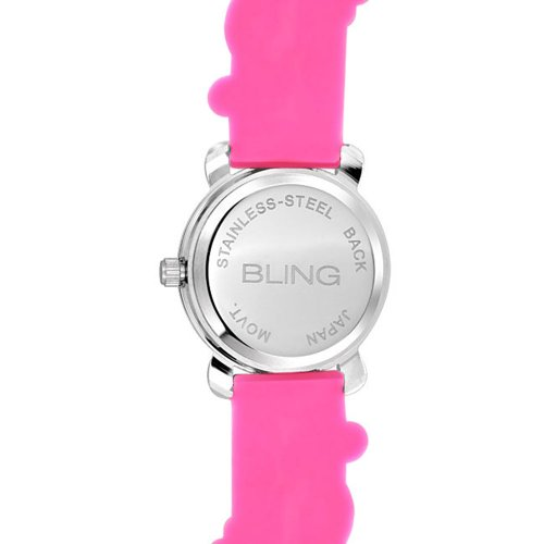Bling Jewelry Girls Pink Ladybug Clover Kids Watch Stainless Steel Back by Bling Jewelry (Image #4)