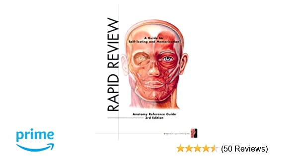 Rapid Review Anatomy Reference Guide 9781605471020 Medicine