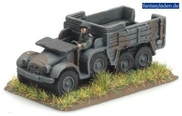 Flames Of War German Krupp Kfz 70 Truck (2 Vehicles) by Flames of -